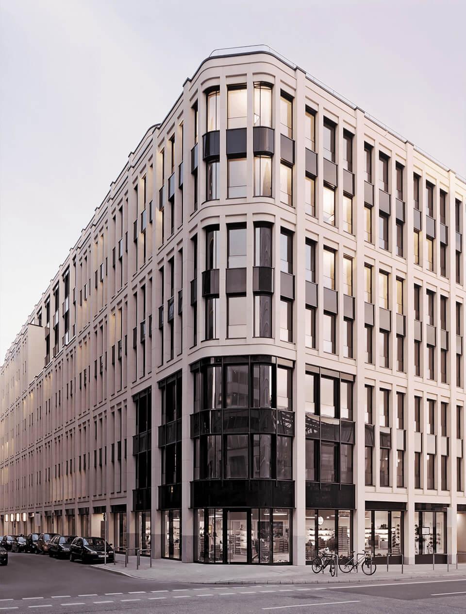 Billede af en kontorbygning i Tyskland